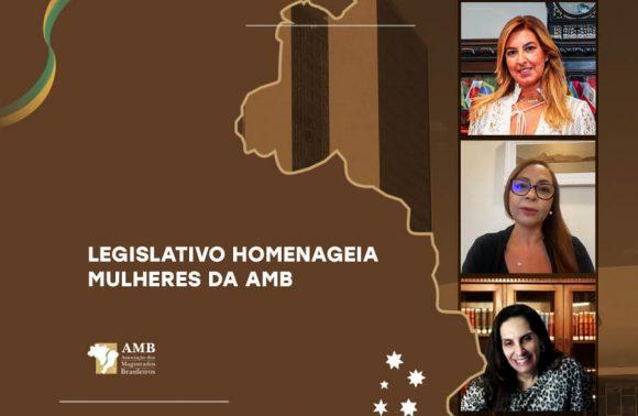 Mulheres da AMB recebem menção honrosa por combate à violência doméstica