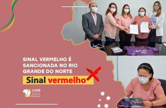 Campanha Sinal Vermelho é sancionada no Rio Grande do Norte